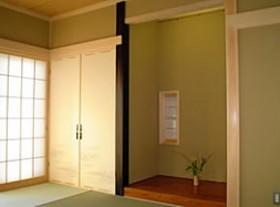 和室と床の間