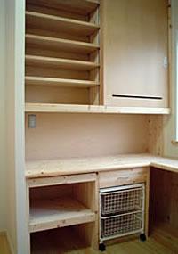 キッチンバックカウンター
