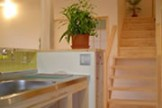 制作キッチンのある家